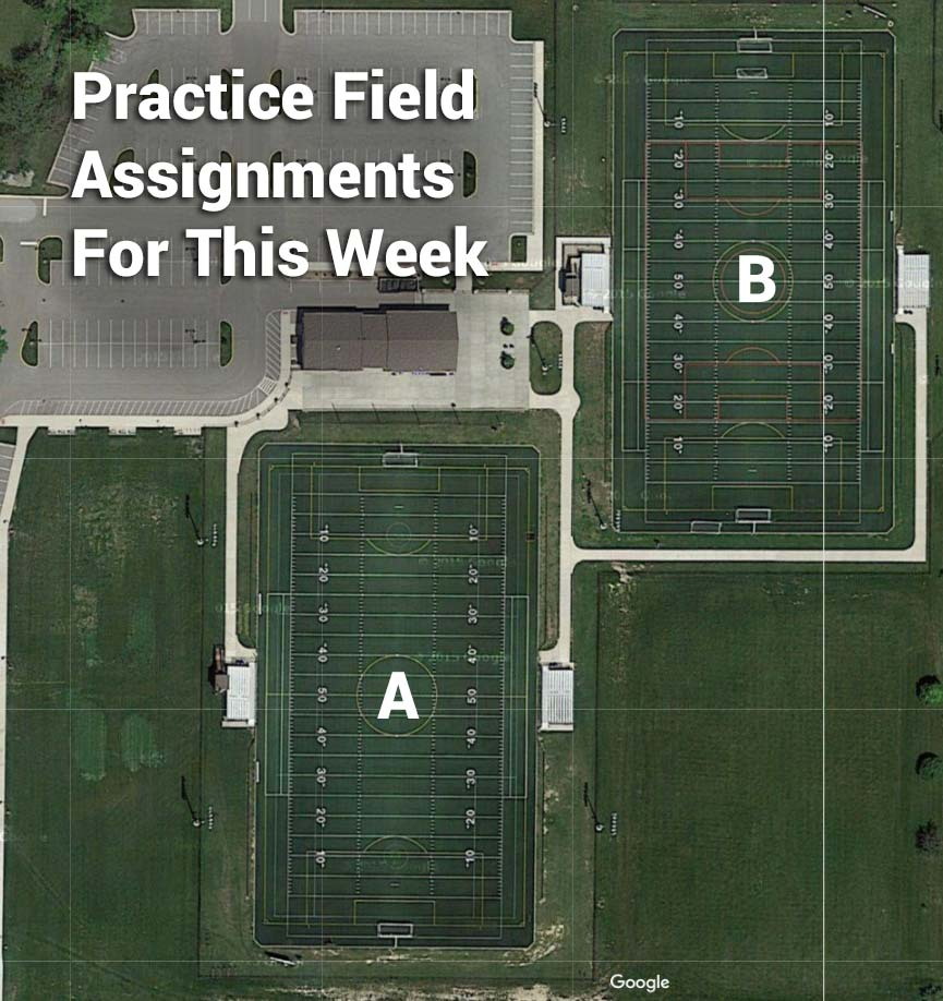 Jr. Bulldog Practice Fields